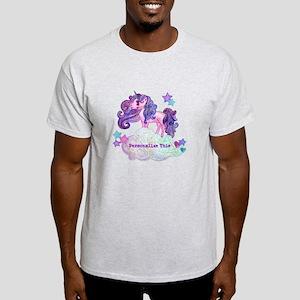 Cute Personalized Unicorn T-Shirt