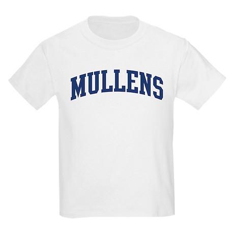 MULLENS design (blue) Kids Light T-Shirt