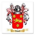 Vowell Square Car Magnet 3