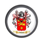 Vowell Wall Clock