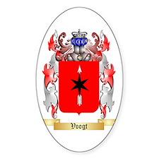 Voogt Sticker (Oval)