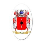 Voogt 20x12 Oval Wall Decal