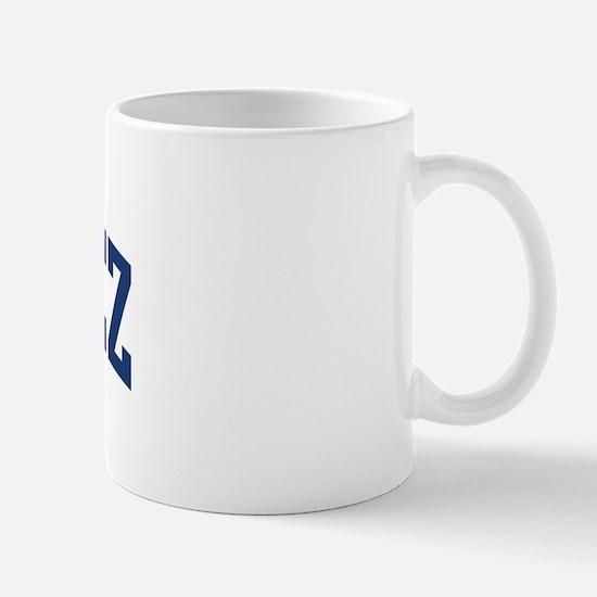 ORDONEZ design (blue) Mug