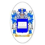 Vondra Sticker (Oval 50 pk)
