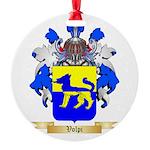 Volpi Round Ornament