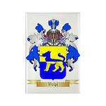 Volpi Rectangle Magnet (100 pack)