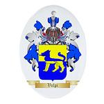 Volpi Oval Ornament