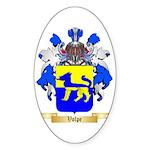 Volpe Sticker (Oval 50 pk)