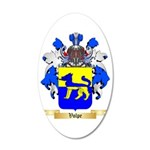 Volpe 35x21 Oval Wall Decal
