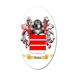 Voller 20x12 Oval Wall Decal