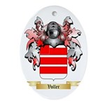 Voller Oval Ornament