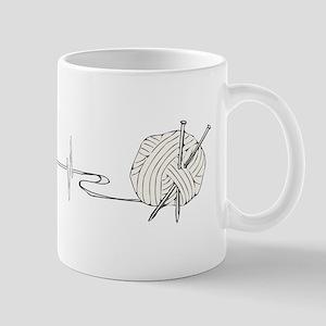 A Knitting Heart Mugs