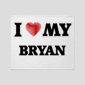 I love my Bryan Throw Blanket