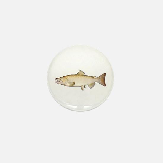 Chinook Salmon Mini Button