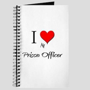 I Love My Prison Officer Journal