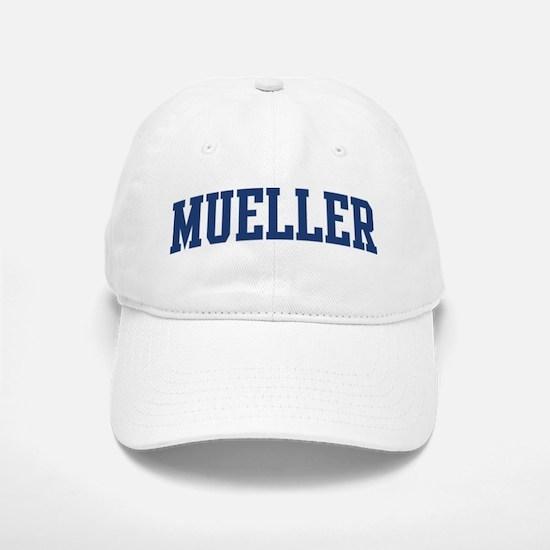 MUELLER design (blue) Baseball Baseball Cap