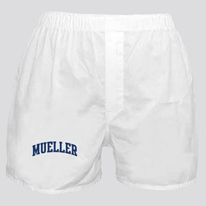 MUELLER design (blue) Boxer Shorts