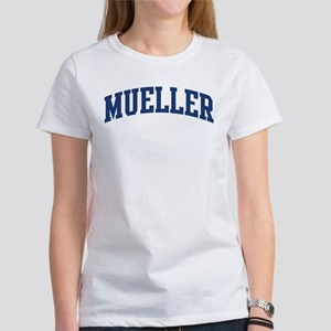 MUELLER design (blue) Women's T-Shirt