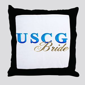 uscg_brde Throw Pillow