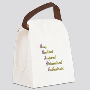 bride Canvas Lunch Bag