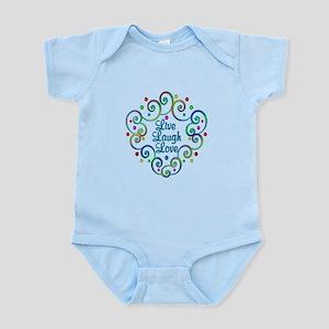 Happy Live Laugh Love Infant Bodysuit
