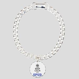 I can't keep calm Im SPU Charm Bracelet, One Charm
