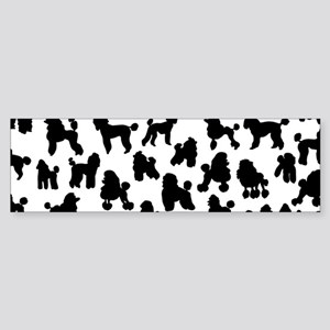 Poodles Sticker (Bumper)