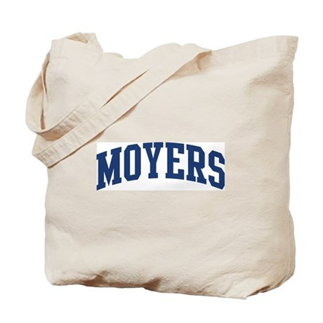 MOYERS design (blue) Tote Bag