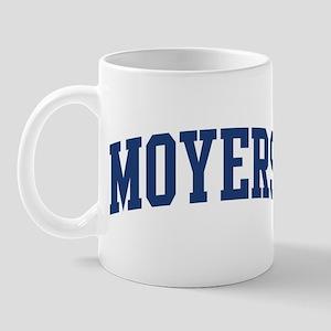 MOYERS design (blue) Mug