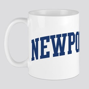 NEWPORT design (blue) Mug