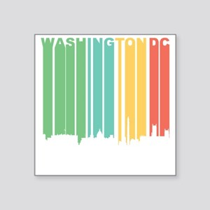 Vintage Washington DC Cityscape Sticker