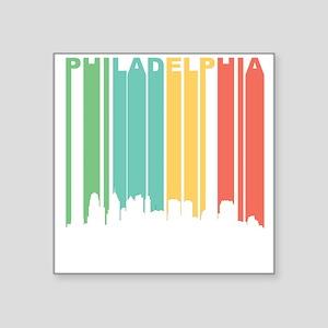 Vintage Philadelphia Cityscape Sticker