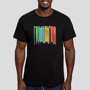 Vintage Philadelphia Cityscape T-Shirt