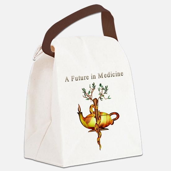 Future In Medicine.png Canvas Lunch Bag