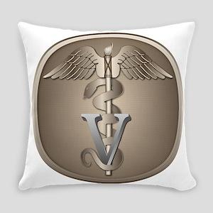 Veterinarian Caduceus Everyday Pillow