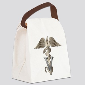 vet11_d Canvas Lunch Bag