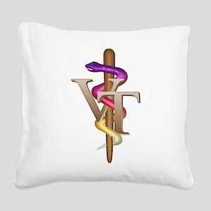 vet_tech_4 Square Canvas Pillow