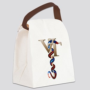 vet_tech_2 Canvas Lunch Bag