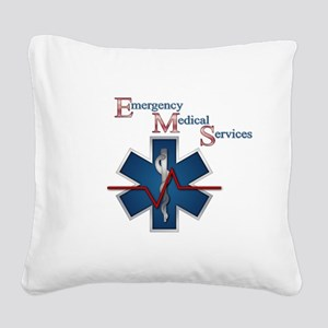 ems_ll1 Square Canvas Pillow