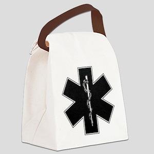 emt_bw Canvas Lunch Bag