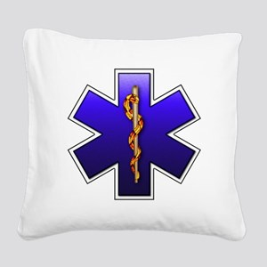 star_of_life Square Canvas Pillow