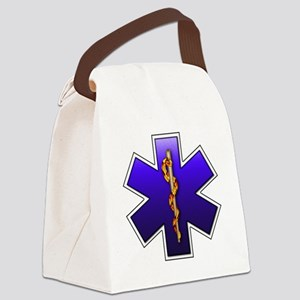 star_of_life Canvas Lunch Bag
