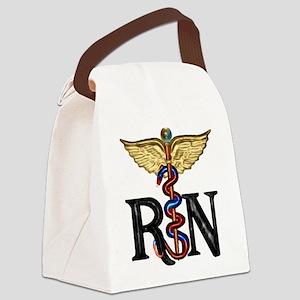 Caduceus_rn1 Canvas Lunch Bag