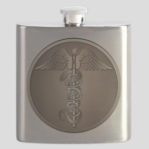 DDS Caduceus Flask