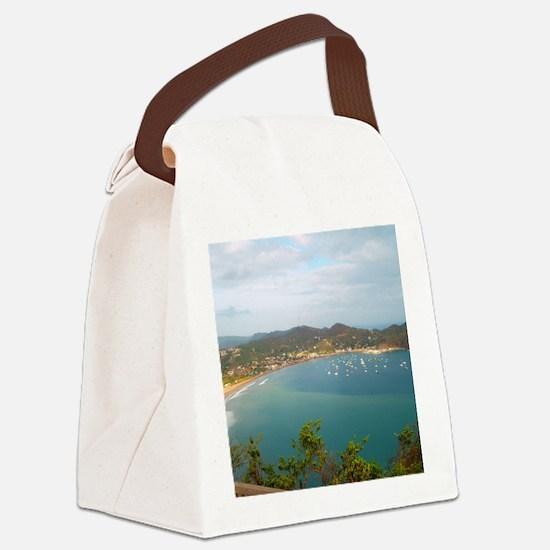 Cute Juan Canvas Lunch Bag