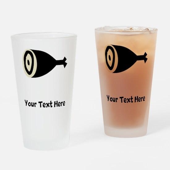 Hambone Drinking Glass
