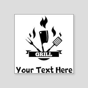 Grill Sticker