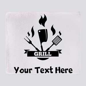 Grill Throw Blanket