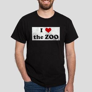 I Love the ZOO Ash Grey T-Shirt