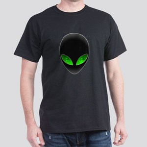 Cool Alien Earth Eye Reflection T-Shirt